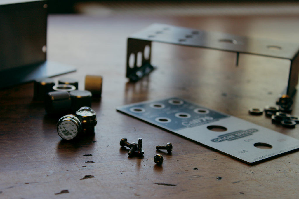 Origin-Effects-Boutique-Manufacturer-Cali76-SlideRIG-analogue-compressor-effects-pedals-about