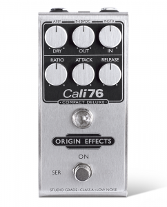 Origin Effects Cali76 Compact Deluxe Analog Boutique Compressor Guitar Effects Pedal