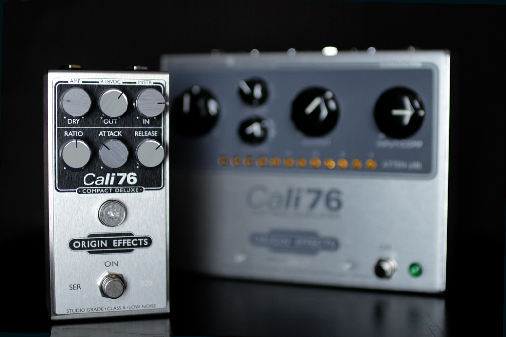 Origin Effects Cali76 Compact Deluxe Studio Style Boutique Analogue Guitar Compressor Effects Pedal