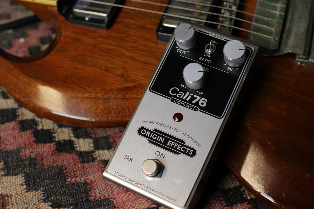 Origin Effects Cali76 Compact 76-C Studio Style Boutique Analogue Guitar Compressor Effects Pedal