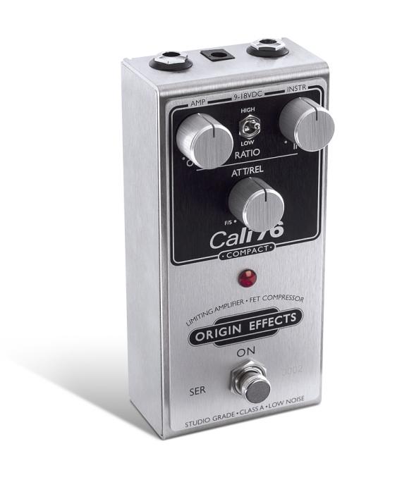 Cali76-C-Origin-Effects-Analogue-Boutique-Compressor-Sustainer-Standing