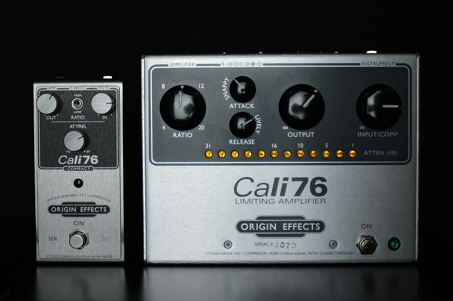 Origin Effects Cali76 Compact Analog Boutique Compressor Limiter Guitar Effects Pedal
