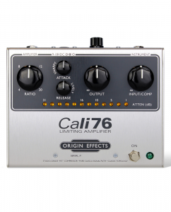 Origin Effects Cali76-G-P Germanium Parallel Boutique Analogue 1176 Style Studio Quality Compressor Limiter Sustainer Guitar Effects Pedal Made In England Built In Britain