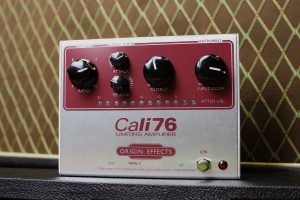 Cali76-TX Limited Edition Maroon Origin Effects Analogue Boutique Compressor Vox AC30 Tone Made In UK British