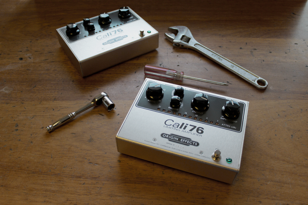 Cali76 TX - Origin Effects Analogue Boutique Compressor Hand Built In Britain UK Guitar Pedal