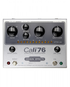 Origin Effects Cali76-TX-P Germanium Parallel Boutique Analogue 1176 Style Studio Quality Compressor Limiter Sustainer Guitar Effects Pedal Made In England Built In Britain