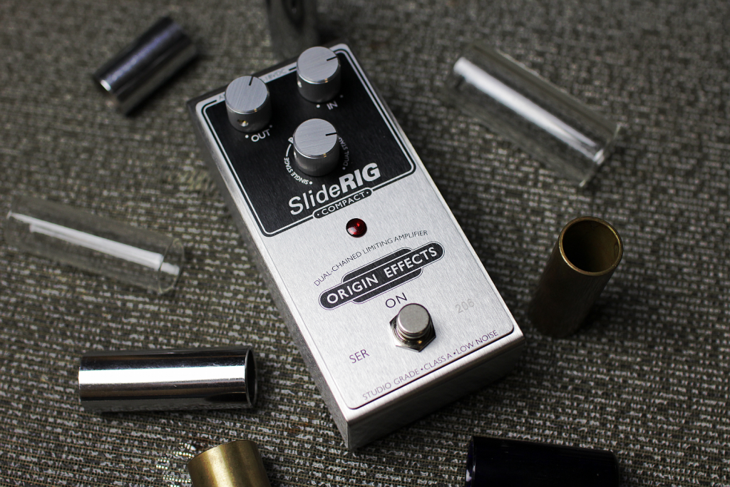 SlideRIG-C Compact Guitar Pedal Origin Effects Boutique Compressor Bottleneck Lapsteel