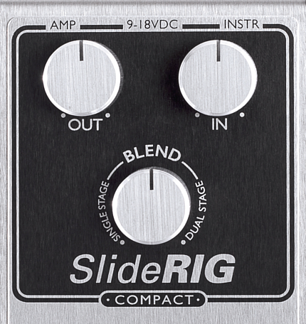 SlideRIG Compact SR-C Studio Style dual-chained 1176 studio style Boutique Analogue Guitar Compressor Effects Pedal Lowell George Little Feat tone