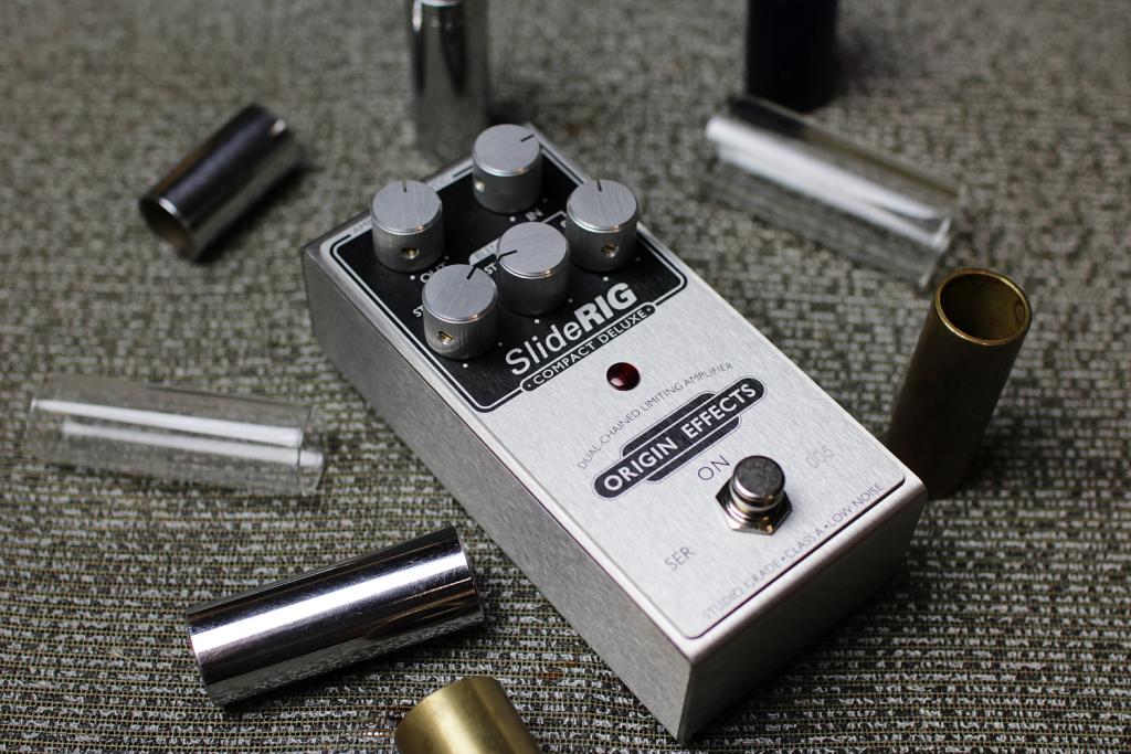 SlideRIG-CD Guitar Pedal Origin Effects Boutique Compressor Bottleneck Lapsteel Parallel Compression