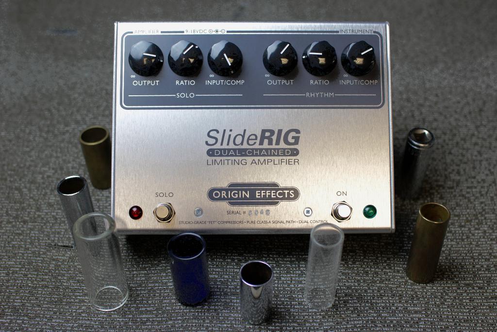SlideRIG-Origin-Effects-Analogue-Boutique-Compressor-Sustainer-Slide-Bottleneck-Guitar-Pedal