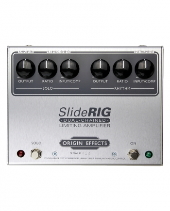 SlideRIG Origin Effects Boutique Analogue Compressor Guitar Effects Pedal Lowell George Tone Analogue UREI 1176