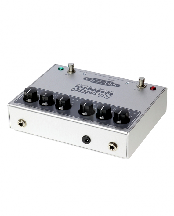 SlideRIG-Rear-Origin-Effects-Boutique-Analogue-Compressor-Guitar-Effects-Pedal-Lowell-George-Tone