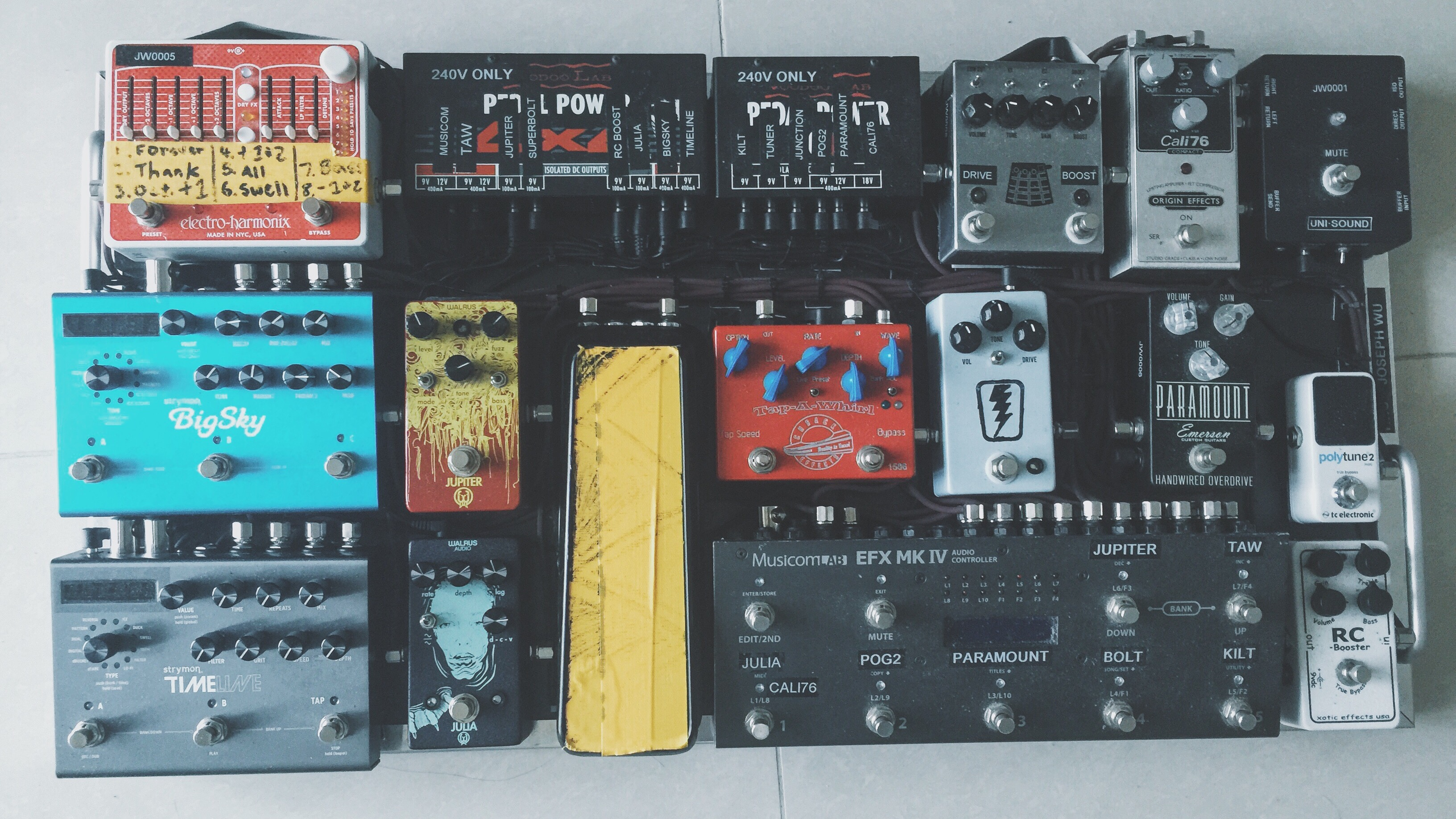 readers pedalboards 3 going loopy origin effects. Black Bedroom Furniture Sets. Home Design Ideas