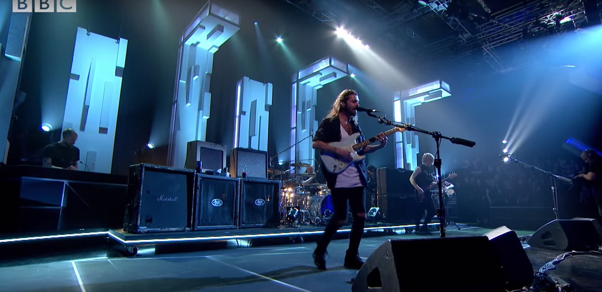 Simon Neil Biffy Clyro Jools Holland Origin Effects Cali76