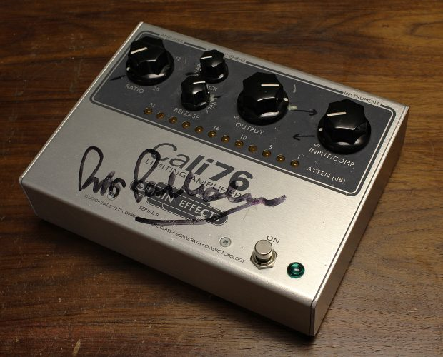 Pino Palladino Origin Effects Cali76 TX Boutique Analogue Bass Compressor Sustainer Limiter Guitar Pedal Transformer
