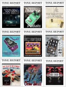 Tone Report Weekly Magazine reviews the Origin Effects Cali76-CD Analogue Boutique Compressor Pedal October 2016