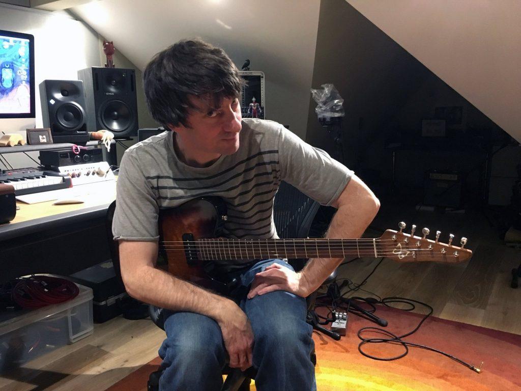 Graham Coxon Blur Origin Effects Cali76 Compact Deluxe Compressor Pedal Studio Quality Fender Telecaster Boutique