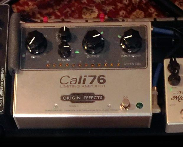 Matt Littell pedalboard readers origin effects cali76 tx compressor pedal
