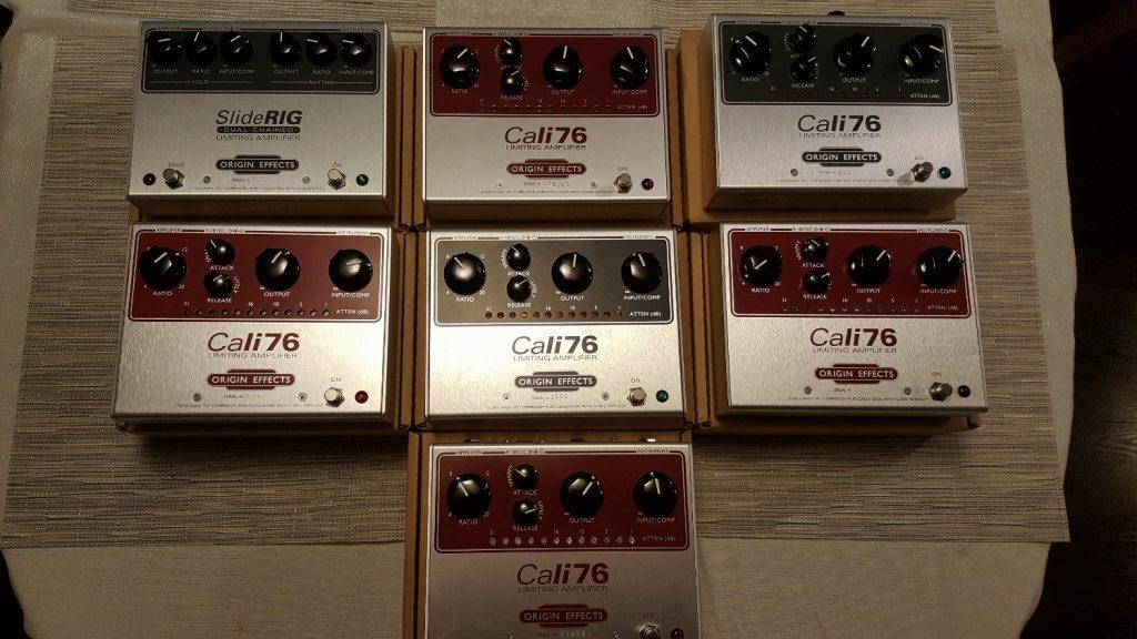 Cali76 Cali 76 TX Germanium Transformer Red Limited Edition Top