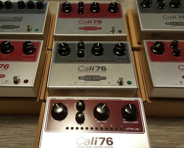 Cali76 Cali 76 TX Germanium Transformer Red Limited Edition angled front