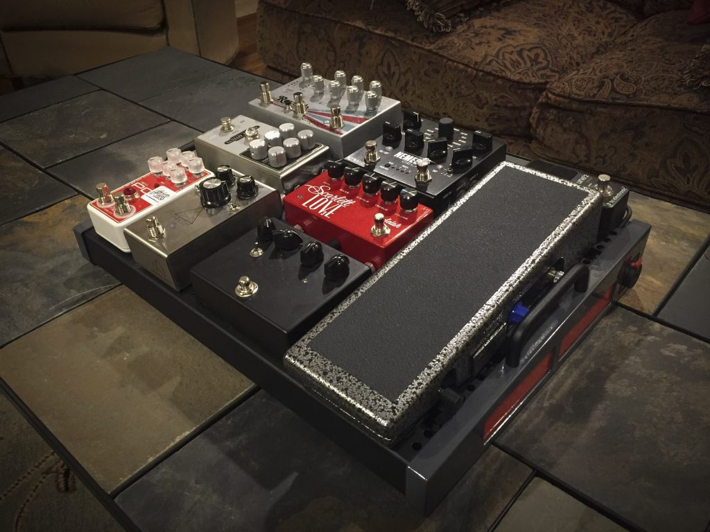 Edward Long Readers Pedalboard Origin Effects Cali76 Cali 76 Pedal Board Empress Reverb Scarlett Love