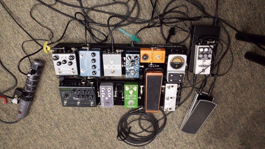 linda taylor pedalboard strymon origin effects cali76 mad professor