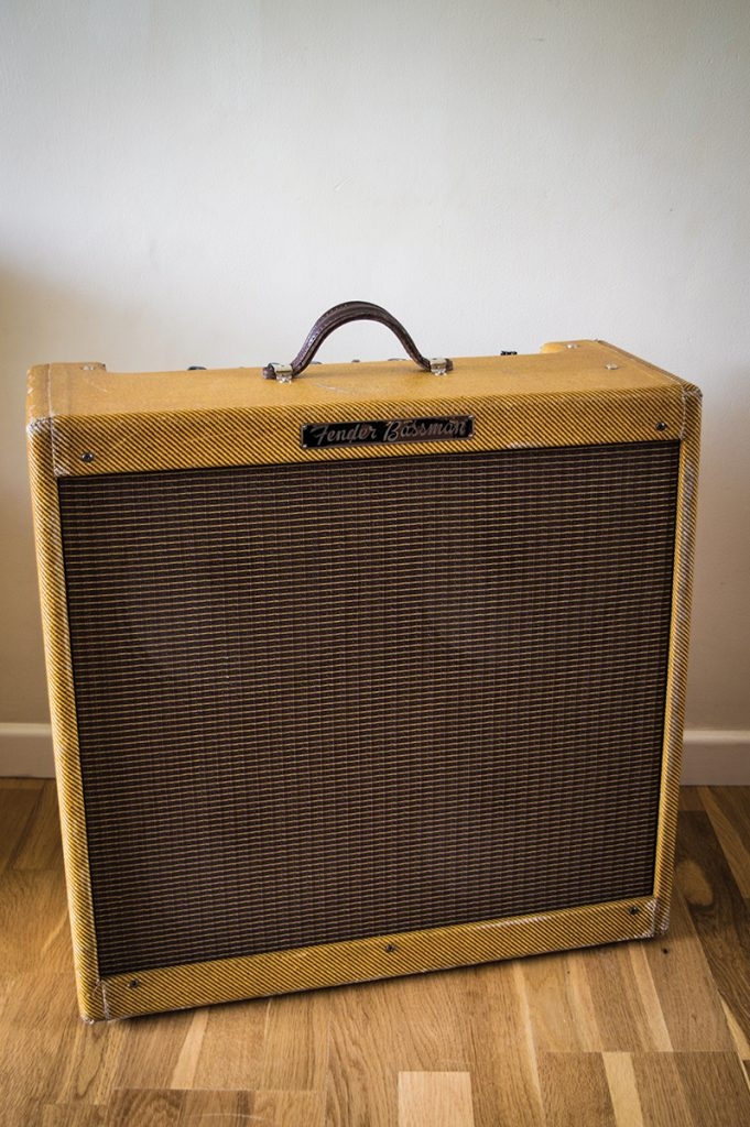 Fender Bassman 5F6-A 1959 Tweed Amplifier