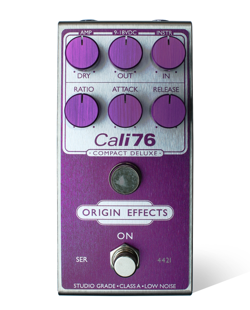 Pedal Genie Limited Edition Purple Cali76 Compact Deluxe Side
