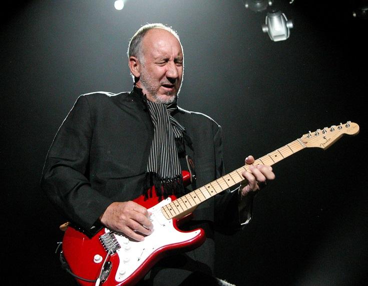 Pete Townshend Guitar The Who Origin Effects Cali76 Compact compressor pedal 1176 pedalboard gear rig rundown
