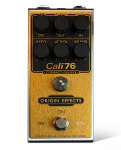 Origin Effects Cali76 Compact Deluxe Gold Rogue Limited Edition Run Guitar Compressor Pedal