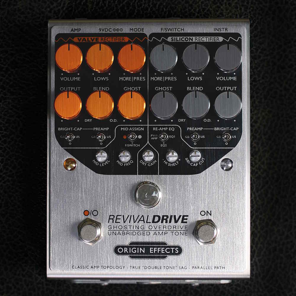 Front Image of Origin Effects RevivalDRIVE overdrive