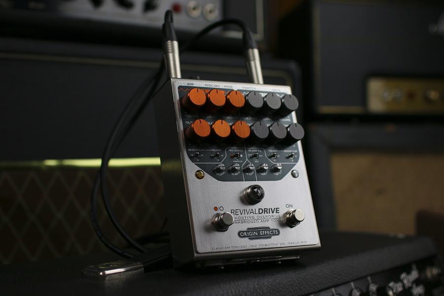 Origin Effects RevivalDRIVE angle on amp 900x600