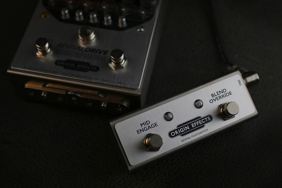 Origin Effects RevivalDRIVERevival Footswitch
