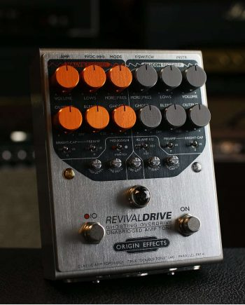 Origin Effects RevivalDRIVE amp simulation overdrive pedal