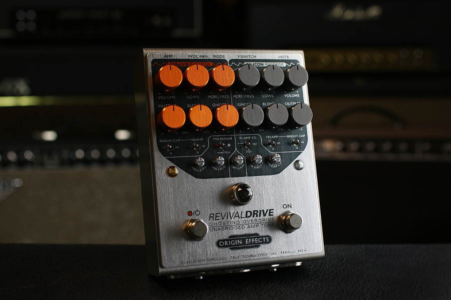The RevivalDRIVE: Origin Effects' First Overdrive Pedal