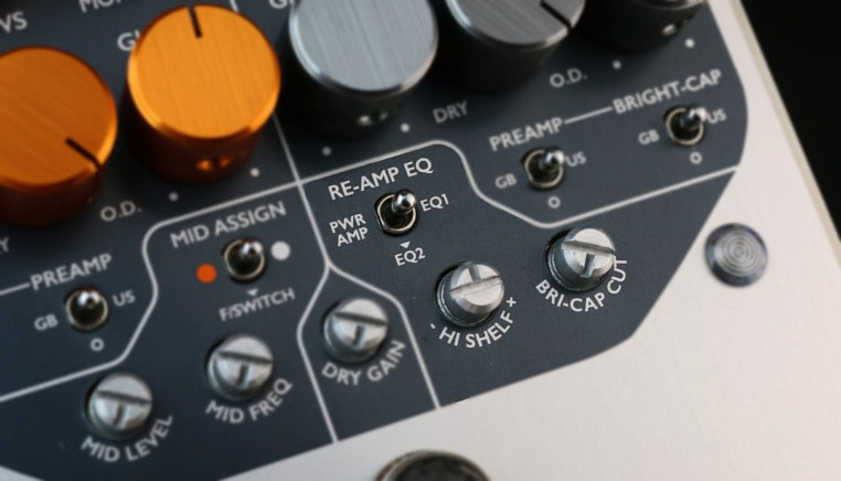 Amp Meets Pedal Reamp EQ