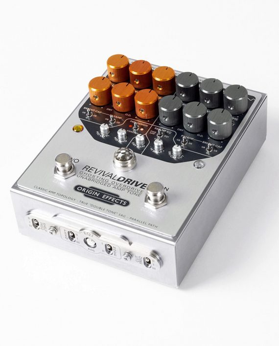 Origin Effects RevivalDRIVE CUSTOM overdrive amp in a box guitar pedal amplifier blackface plexi boutique analogue