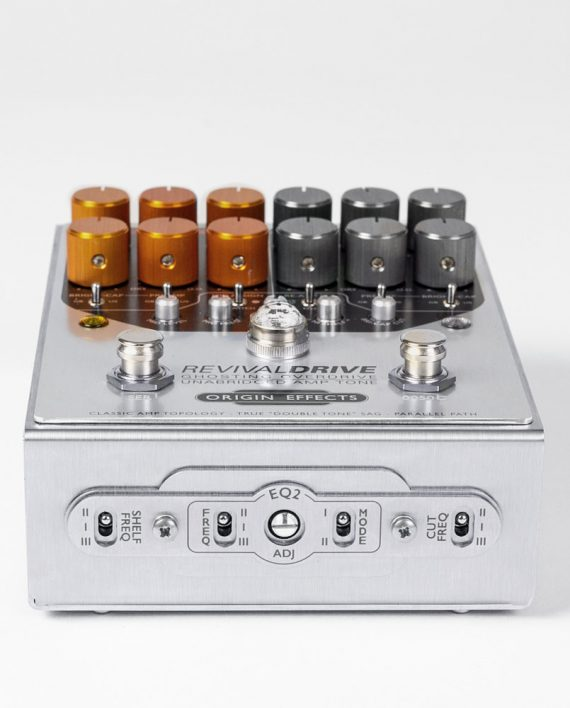 Origin Effects RevivalDRIVE CUSTOM panel overdrive amp in a box guitar pedal amplifier blackface plexi boutique analogue