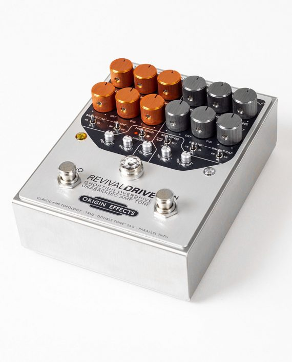 Origin Effects RevivalDRIVE angled overdrive amp in a box guitar pedal amplifier blackface plexi boutique analogue