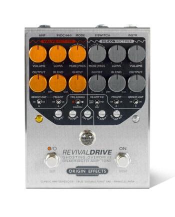 Origin Effects RevivalDRIVE overdrive amp in a box guitar pedal amplifier blackface plexi boutique analogue