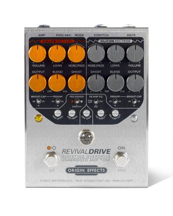 Origin Effects RevivalDRIVE overdrive amp in a box guitar pedal amplifier blackface plexi boutique analogue