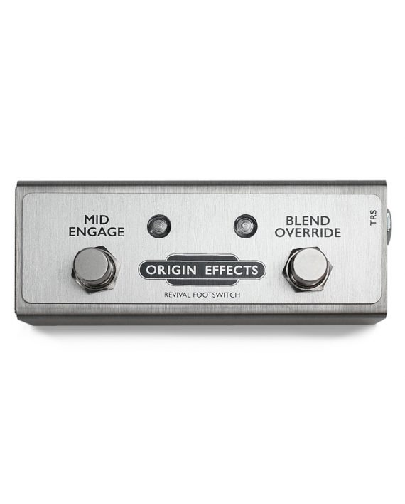 Revival Footswitch for Origin Effects RevivalDRIVE overdrive pedal option