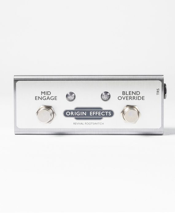 Revival Footswitch for Origin Effects RevivalDRIVE overdrive pedal option CUSTOM