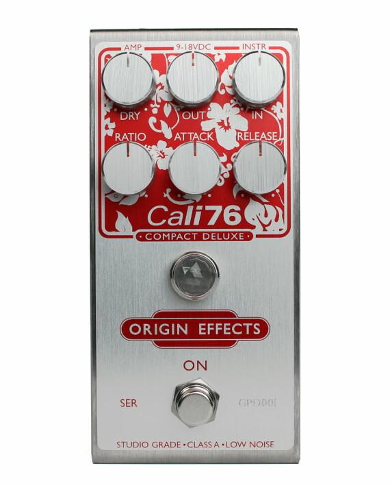 Origin Effects Cali76-CD Guitar Paradiso Front compressor effect boutique