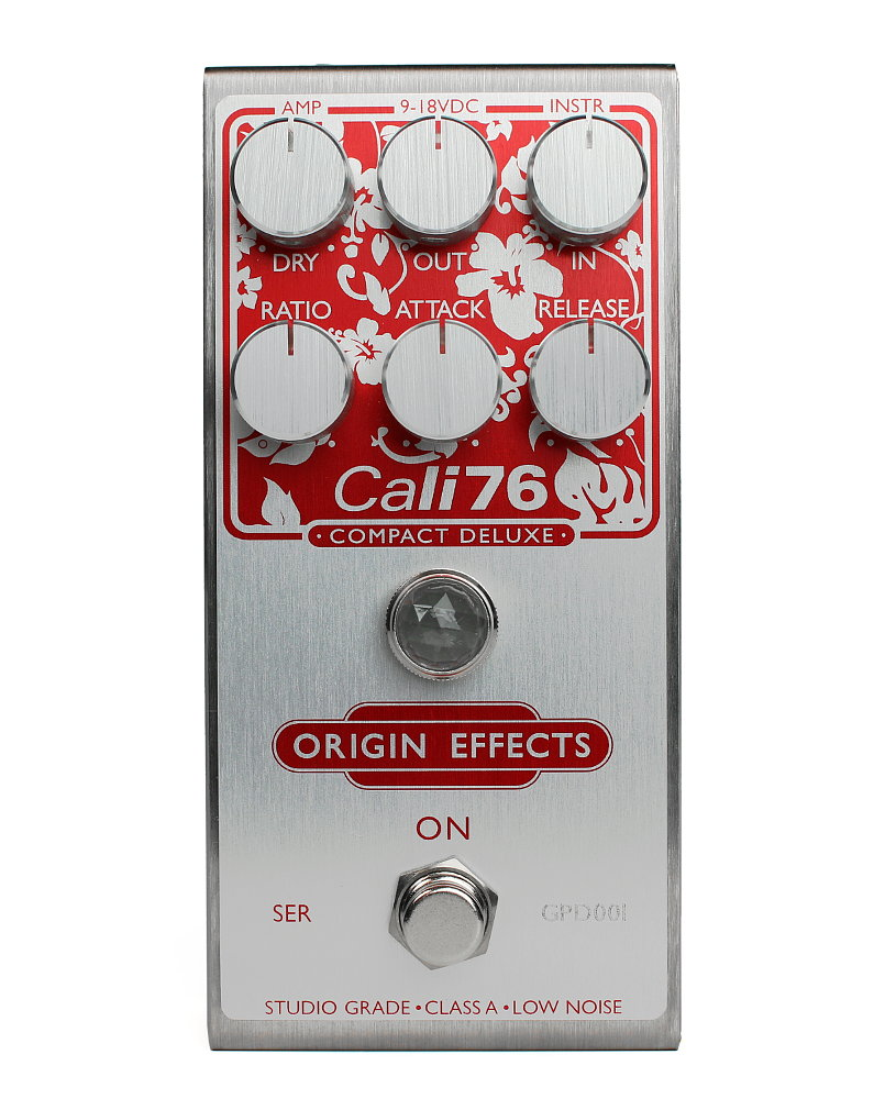 Origin Effects Cali76-CD Guitar Paradiso Front compressor effect boutique