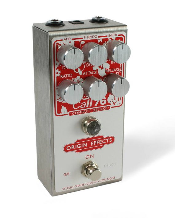 Cali76-CD Guitar Paradiso Top Andertons boutique compressor effect