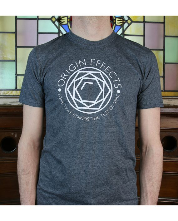Origin Effects Grey T-Shirt Front Jewel Design