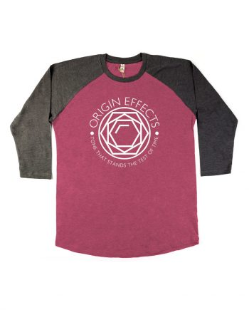Origin Effects Baseball T-Shirt Front Jewel Design Longsleeve