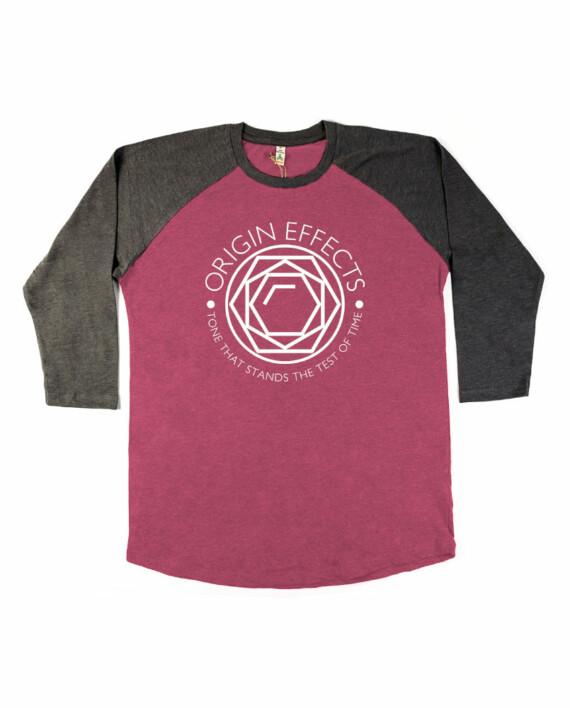 Origin Effects Baseball T-Shirt Front Jewel Design Longsleeve
