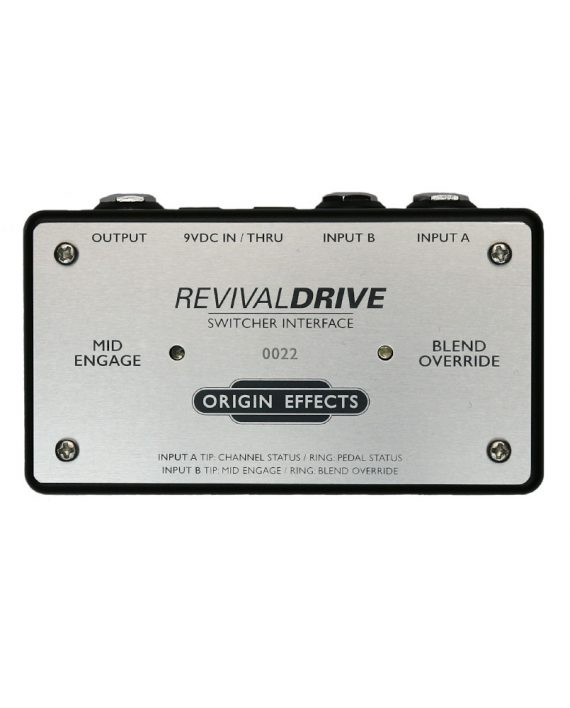 Origin Effects RevivalDRIVE Switcher Interface GigRig Boss ES8 Remote Switch Overdrive Preset MIDI